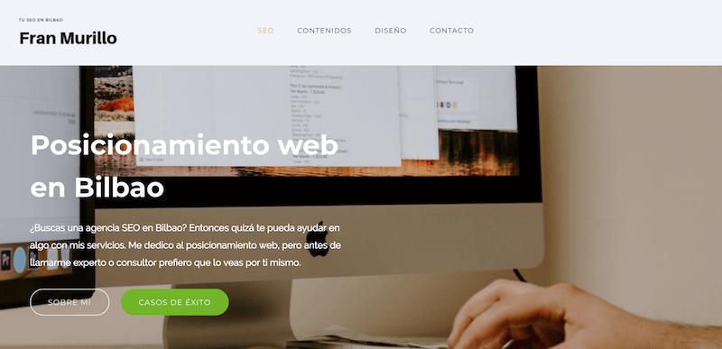 posicionamiento web en Bilbao